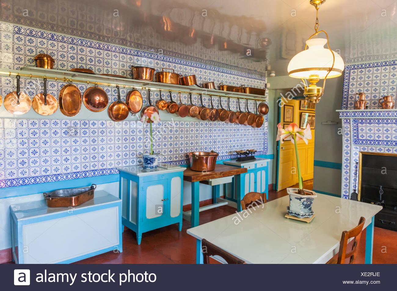 maison monet giverny cuisine ventana blog. Black Bedroom Furniture Sets. Home Design Ideas