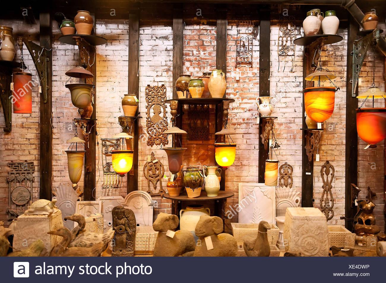 Lampes asiatiques importés. Photo Stock