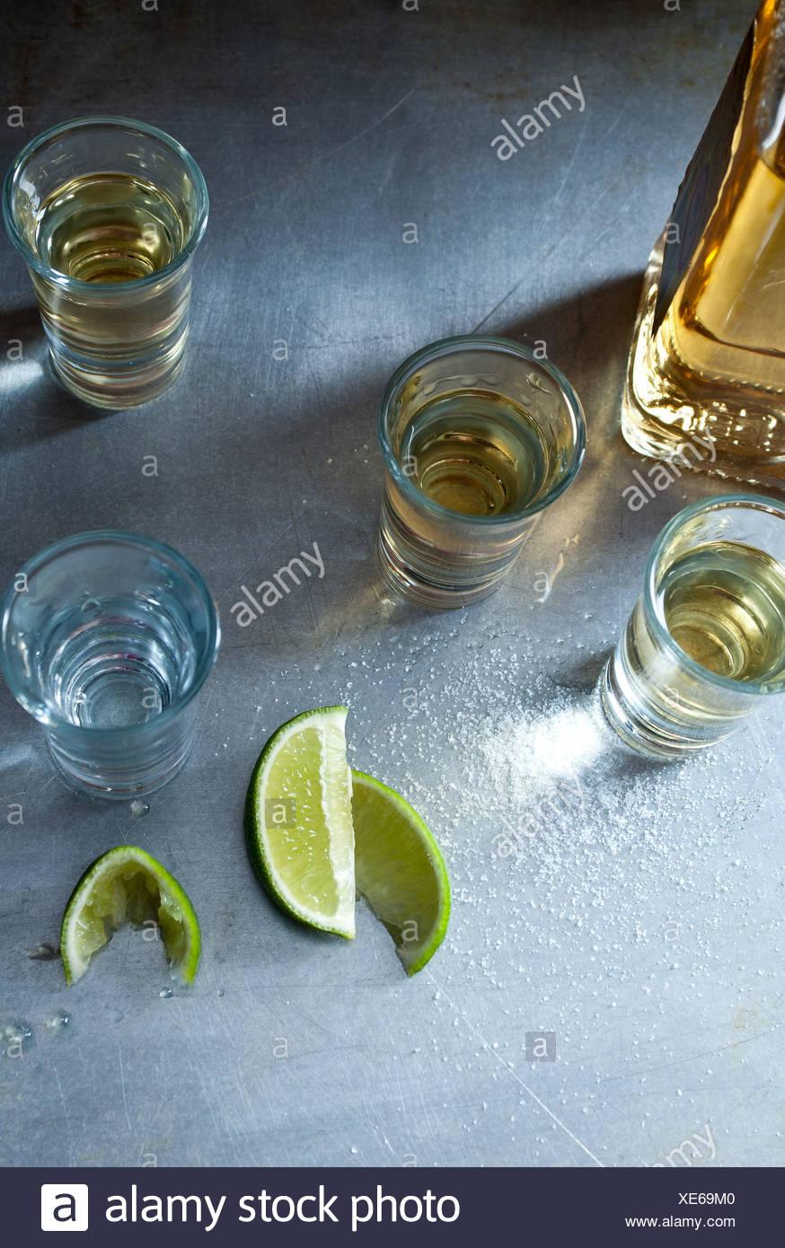 Photos de tequila Photo Stock