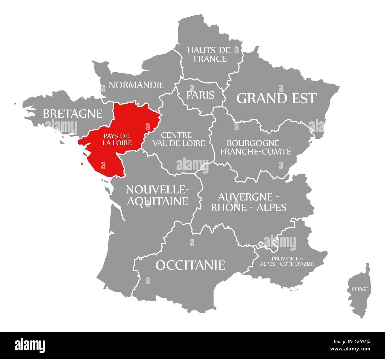 Cartina Geografica Della Loira Francia.Paesi Della Loira Immagini E Fotos Stock Alamy