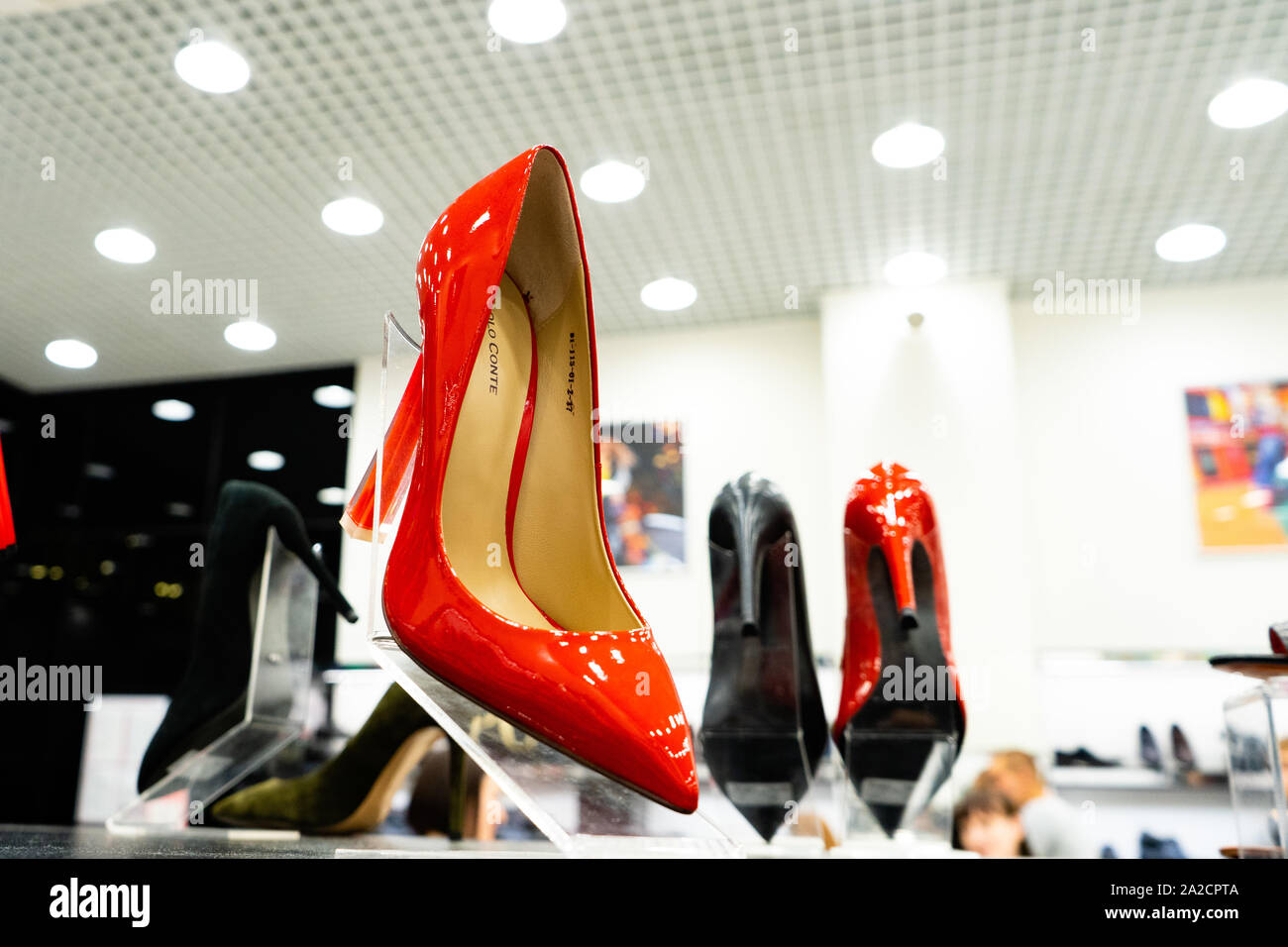 Red High Heeled Shoes Immagini e Fotos Stock Alamy