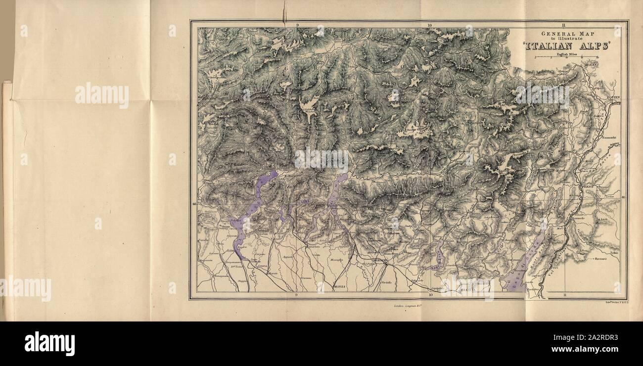 Cartina Lago Maggiore Stradale.Mappa Del Lago Di Como Immagini E Fotos Stock Alamy