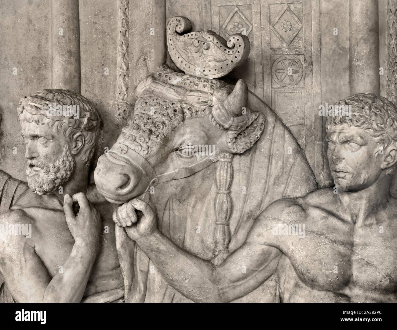 Alloro CORONA testa Gioielli römerin alloro Corona Oro Antico Capelli Gioielli Roma