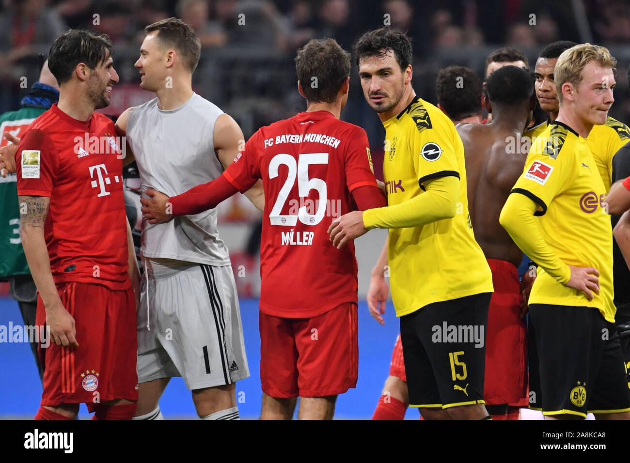Mats HUMMELS (Borussia Dortmund) con Thomas MUELLER (MULLER ...