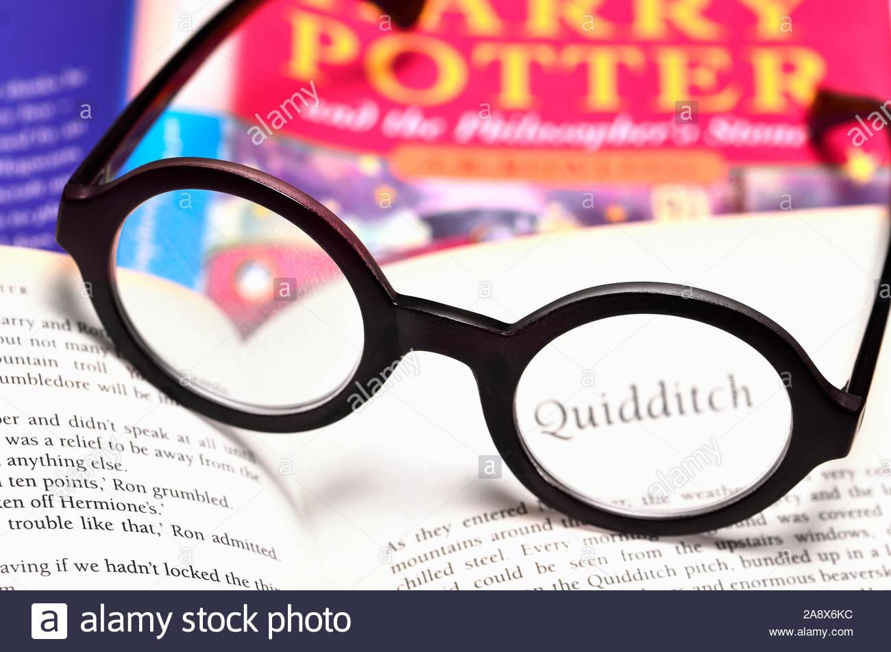 Harry Potter Nero Rotondo Occhiali Geek procedura guidata di Hogwarts Nerd Costume