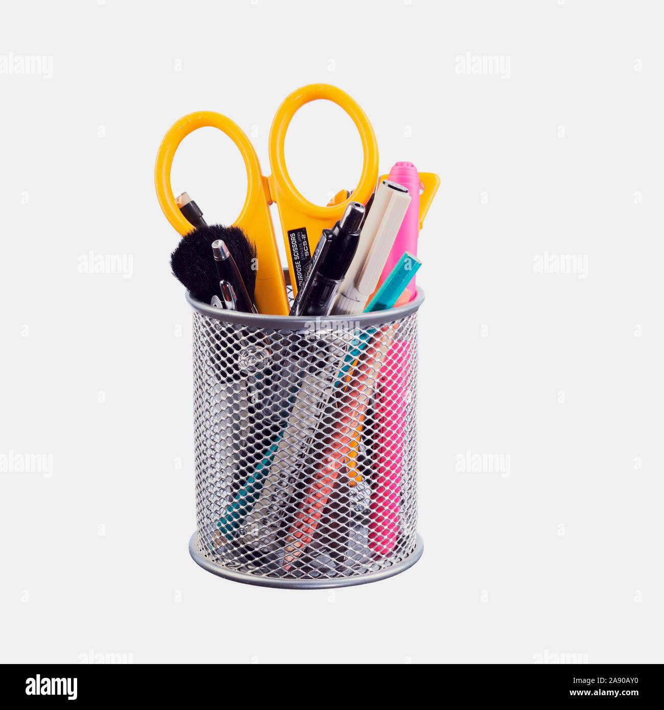 WeiMay Penna piuma Penna stilografica Penna per scrivere Penna piuma dinchiostro calligrafia 16 diversi pennini Uso personale di lettere scritte Grigio