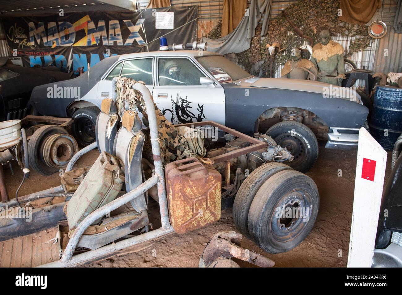 Mad Max in museo Silverton vicino a Broken Hill, Nuovo Galles del Sud, Australia Foto Stock
