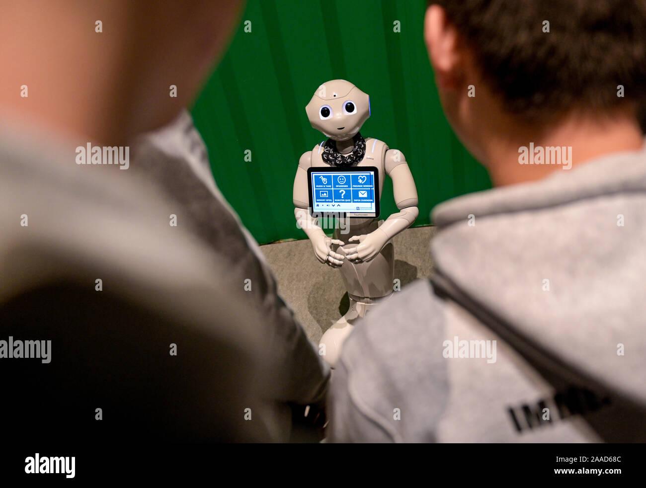 robot datazione in futuro