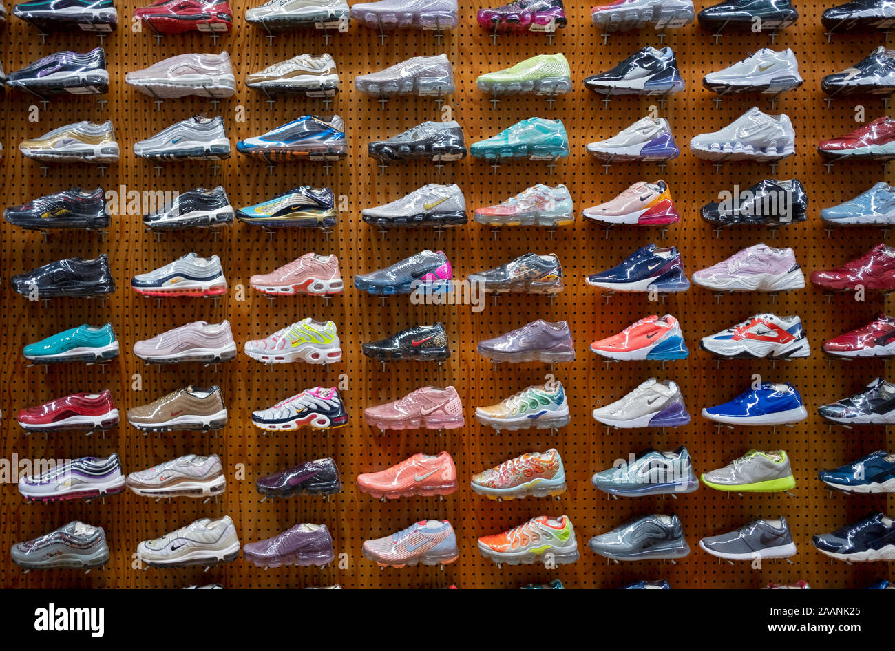 Nike Running Shoes Immagini e Fotos Stock Alamy
