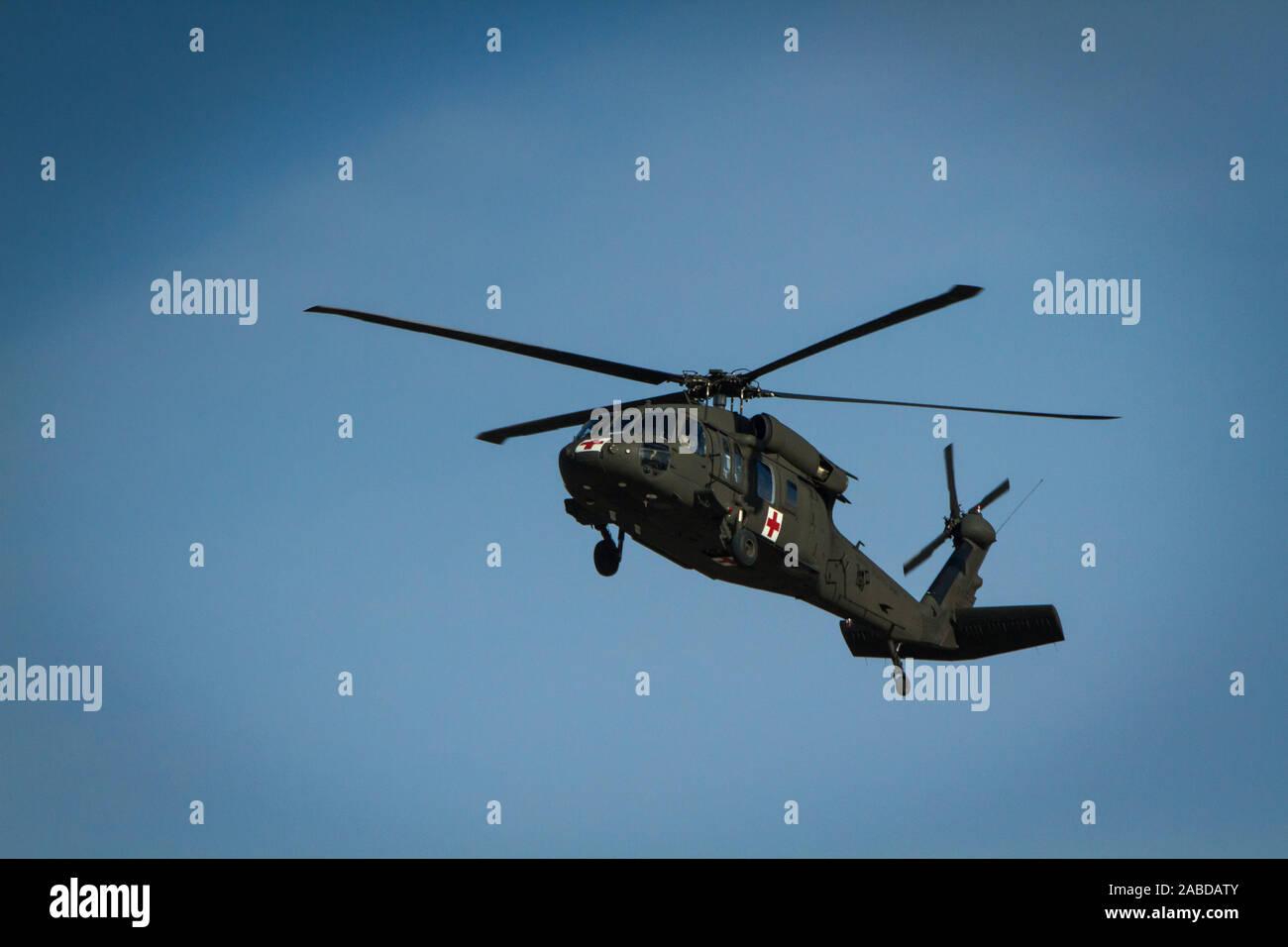 elicottero Esercito Air CAVALRY Black Hawk veterano Adulti /& Bambini T-shirt