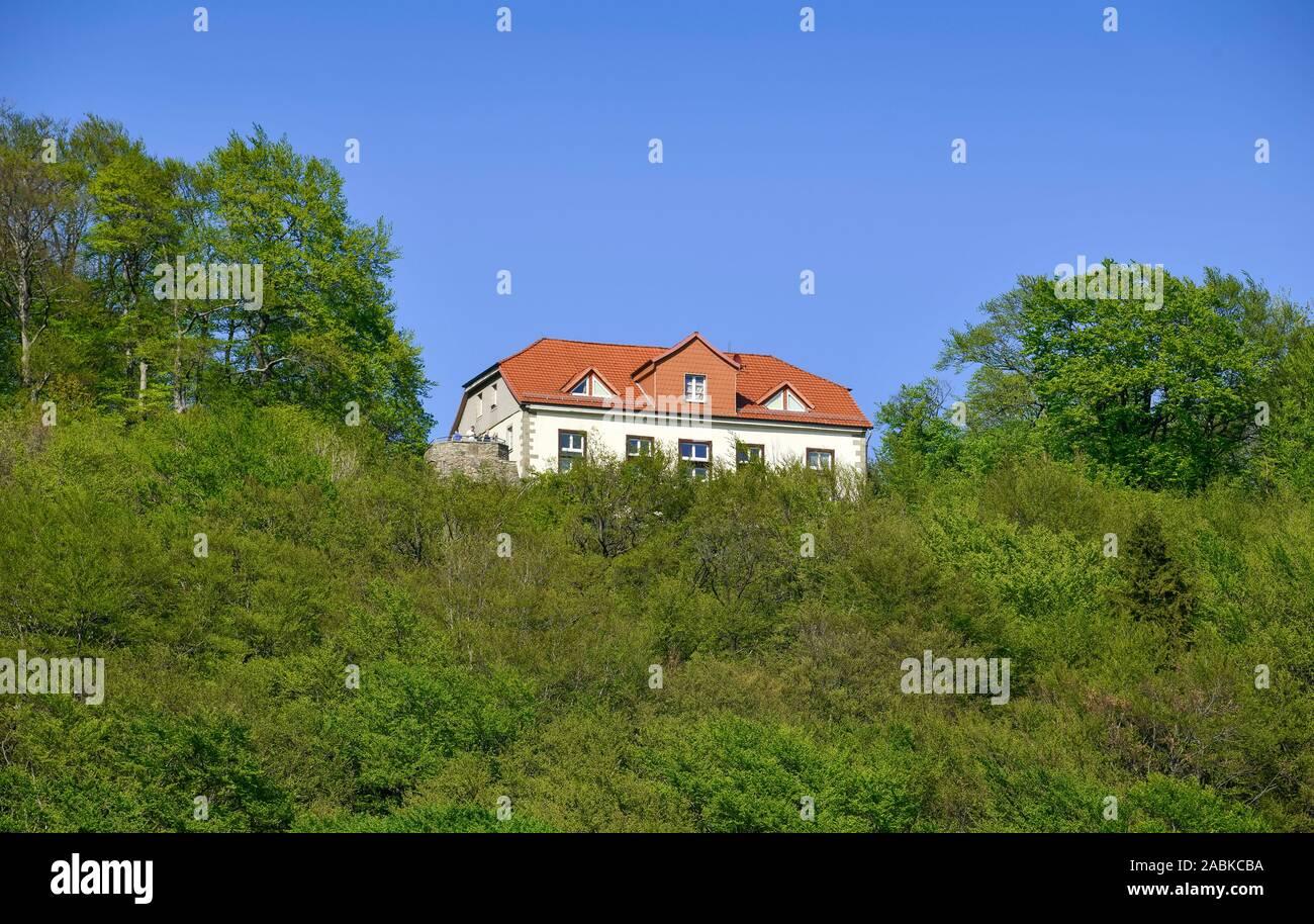 Paschenburg, Rinteln, Weserbergland, Niedersachsen, Deutschland Foto Stock