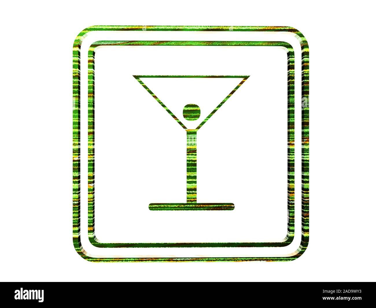 Simbolo per ristorante Foto Stock