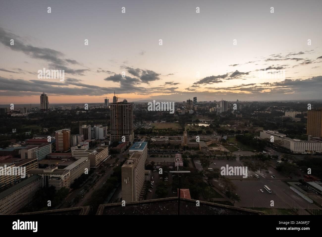 Nairobi collegare siti