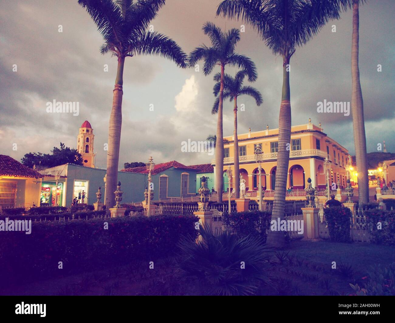 Città vecchia di Trinidad Foto Stock