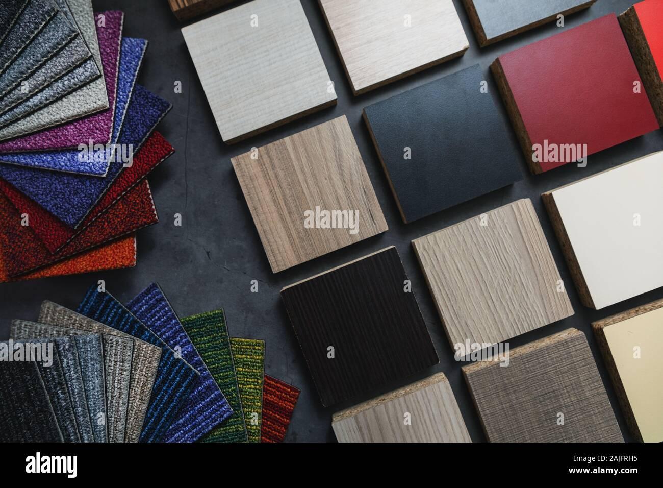Legno Laminato Per Mobili pavimenti e mobili in laminato di campioni di materiali per