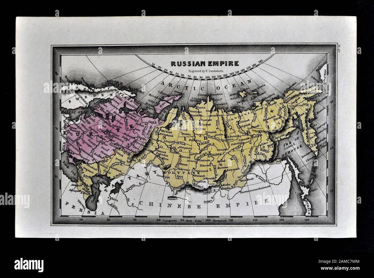 Cartina Siberia Russia.Siberia Map Immagini E Fotos Stock Alamy