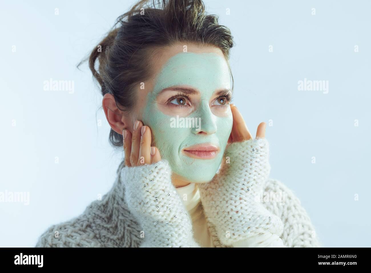 maschera viso 40 anni