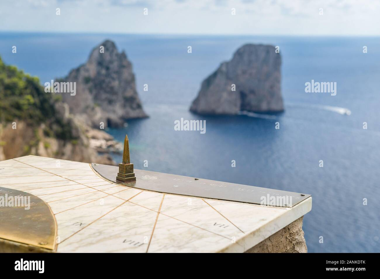 Cartina Costiera Amalfitana E Capri.Map Capri Immagini E Fotos Stock Alamy