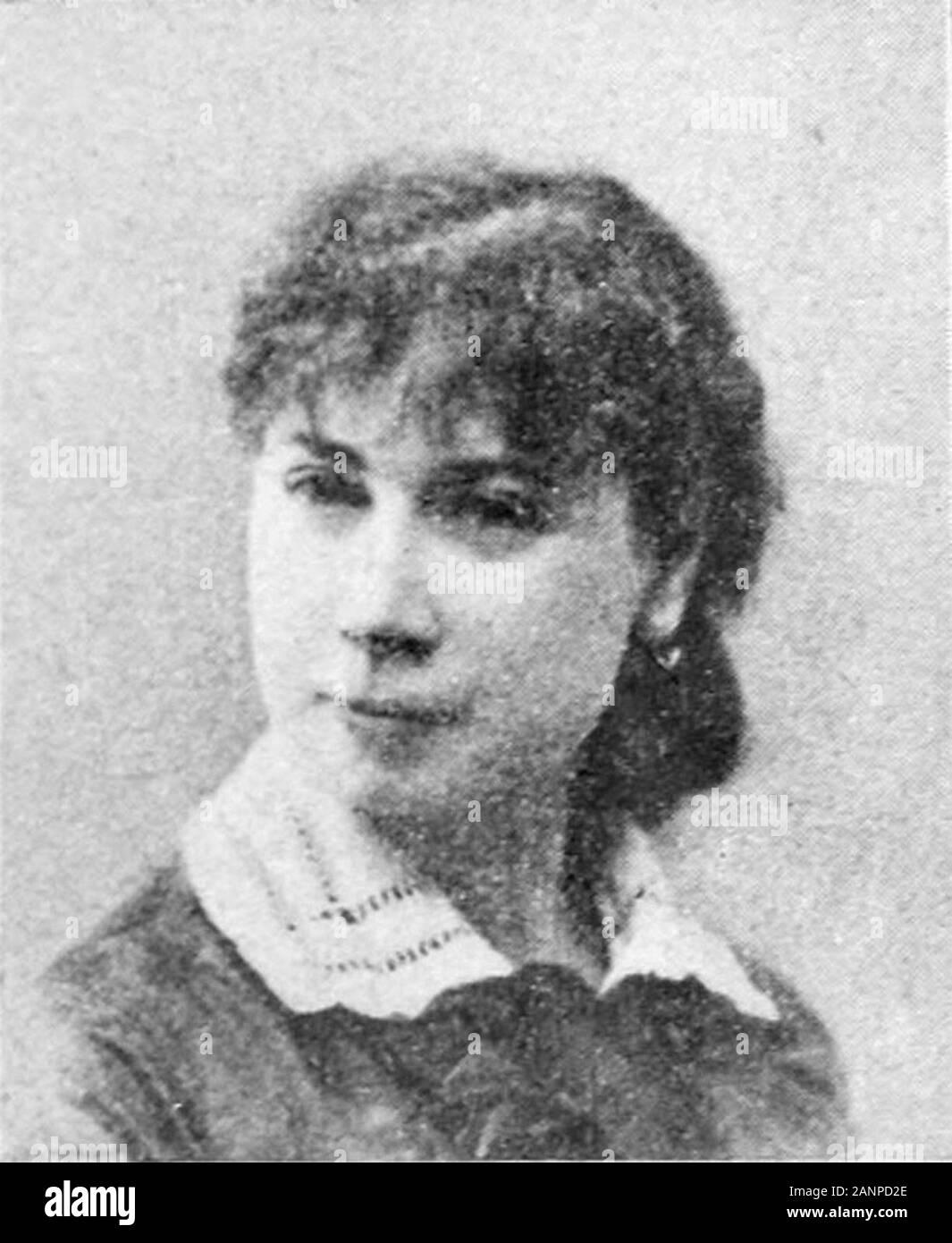 Amélie Beaury-Saurel (1849 - 1924), pittore francese Foto Stock