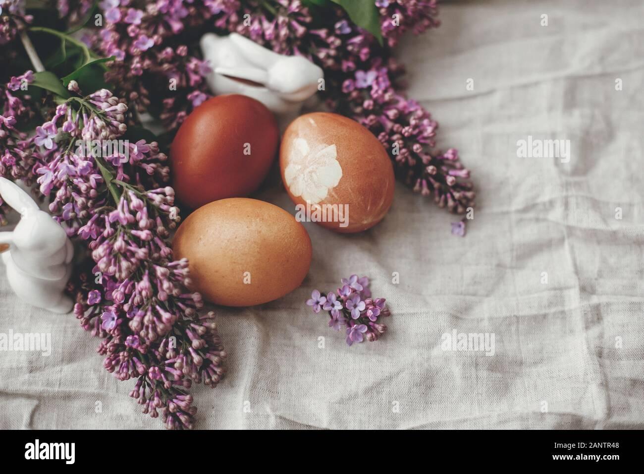 Erba /& Fiori fatto a mano PASQUA Ghirlanda da parete decorazione w// uova RUSTICO STILE SHABBY CHIC