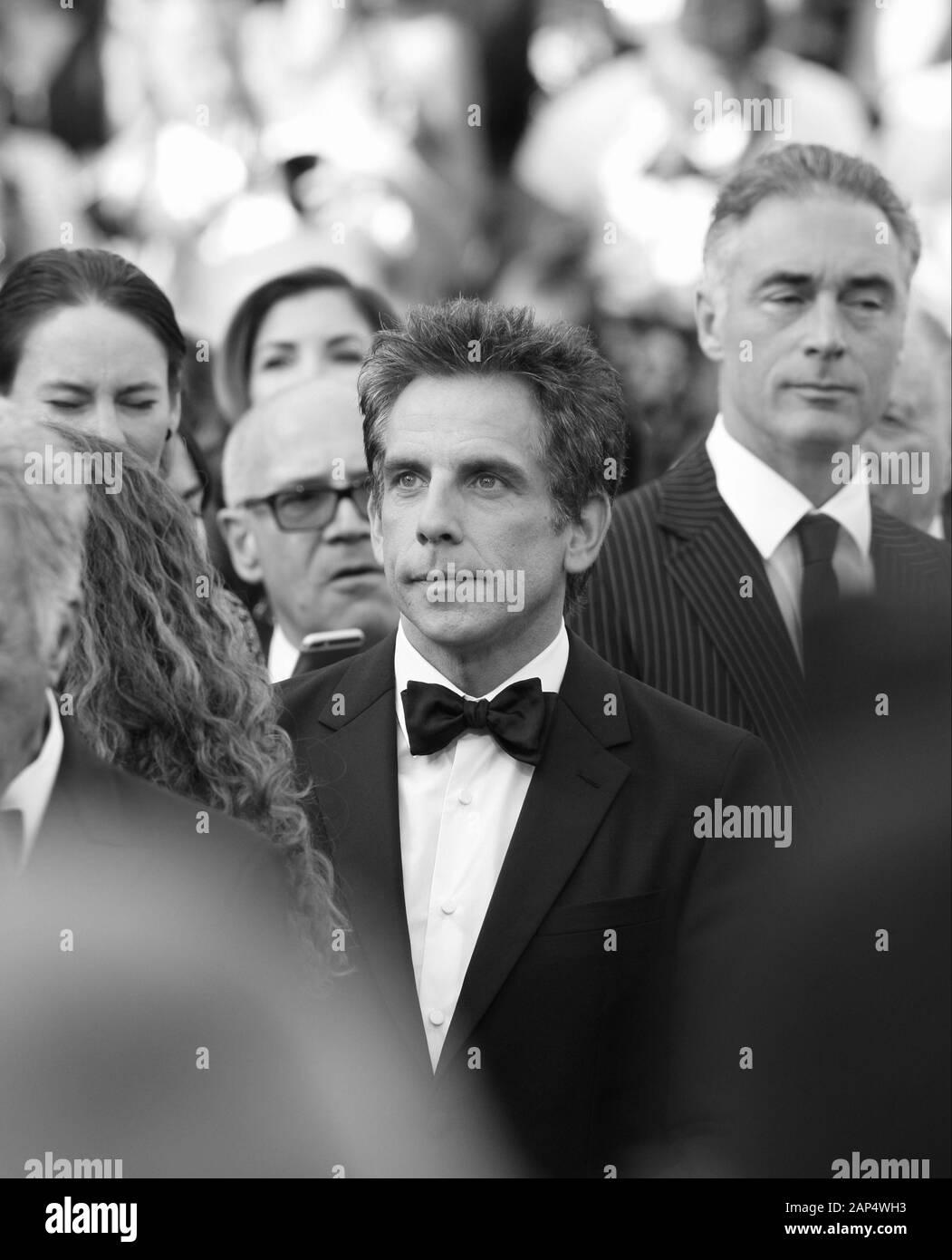 Ben Stiller assiste le storie di Meyerowitz screening durante il settantesimo annuale di Cannes Film Festival presso il Palais des Festivals il 21 maggio 2017 a Cannes, Francia. Foto Stock