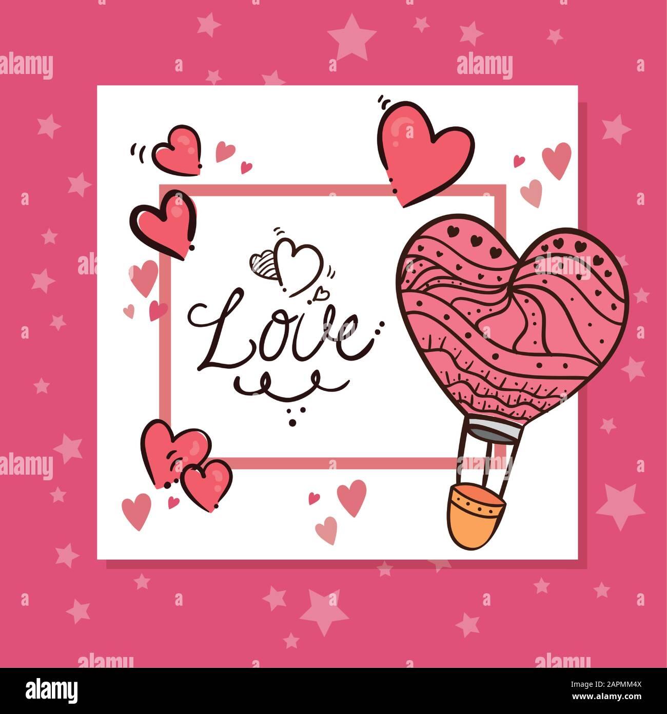 Decorazioni Lettere D Amore carta da giorno valentines con lettere e decorazioni d'amore