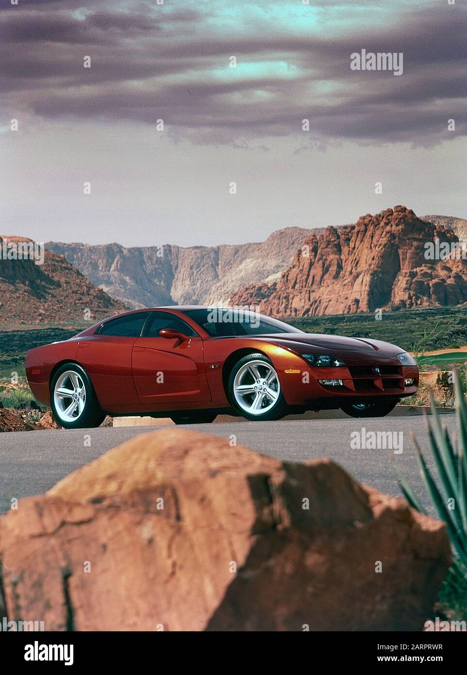 Dodge Charger Concept Car 1999 Foto Stock