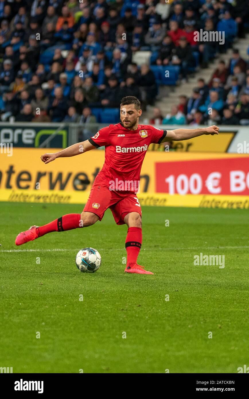 Lo Stadio Della Squadra Di Calcio Bayer 04 Leverkusen Immagini e ...