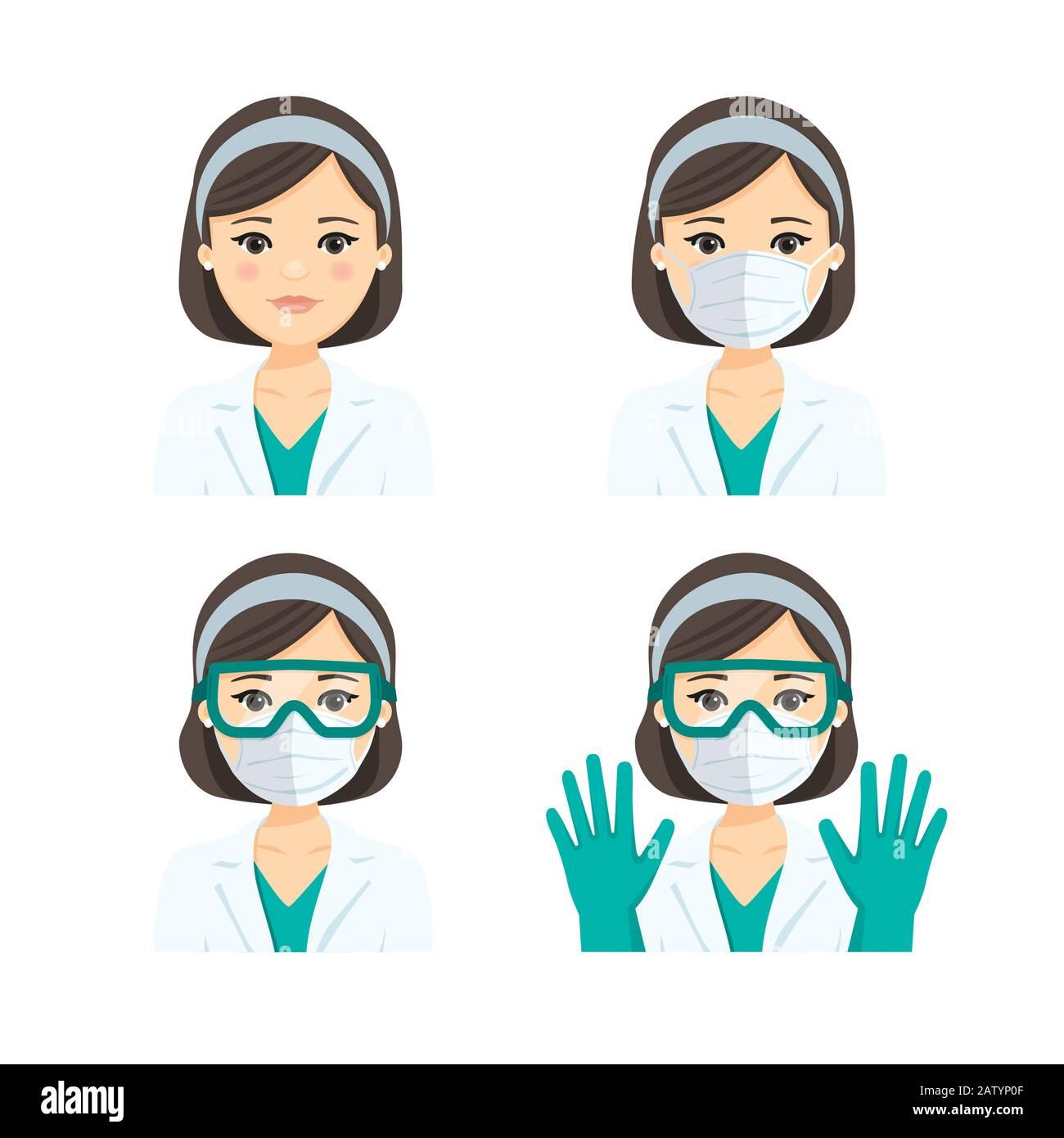 maschera medico n95