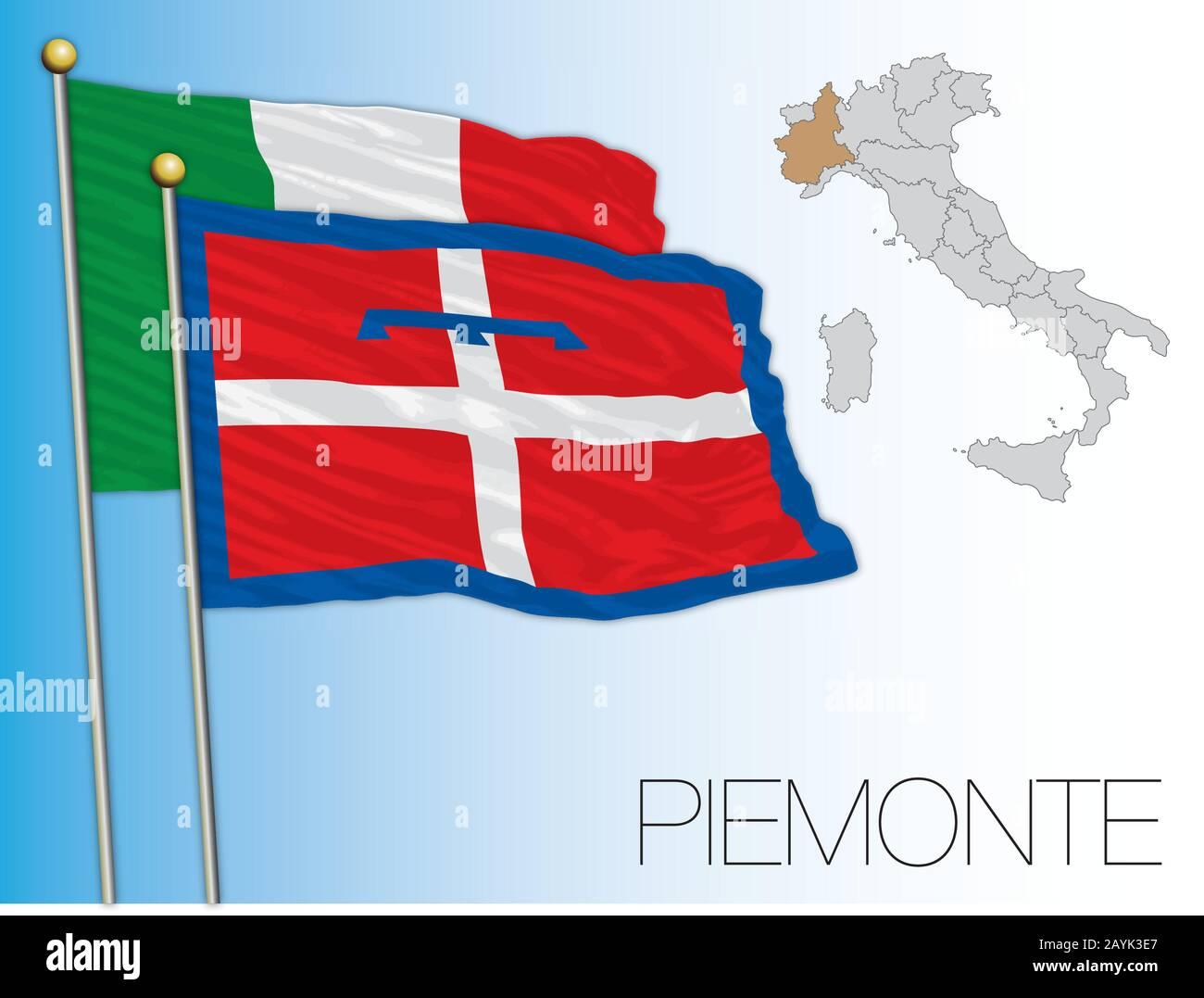 Cartina Dettagliata Piemonte.Piemonte Vector Immagini E Fotos Stock Alamy