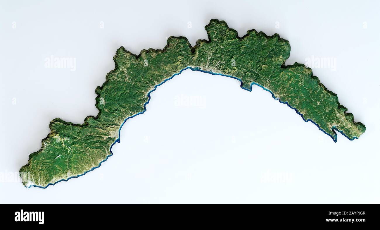 Cartina 3d Alpi.Vista Satellite 3d Di Genova Immagini E Fotos Stock Alamy