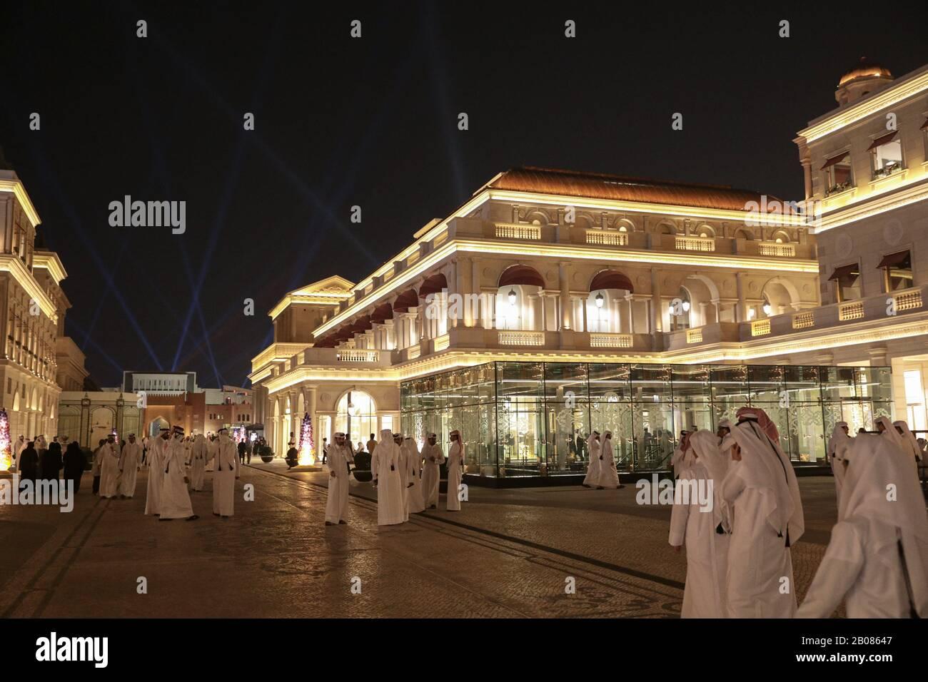Galeries Lafayette, Doha, Qatar Il 10 Ottobre 2019 / Galeries Lafayette, Doha, Qatar Στις 10 Οκτωβρίου, 2019 Foto Stock