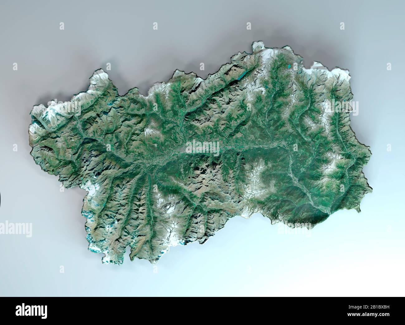 Cartina Fiumi Valle D Aosta.Vista Satellitare Della Valle D Aosta Italia Rendering 3d Mappa Fisica Della Valle D Aosta Pianure Montagne Laghi Montagne Delle Alpi Foto Stock Alamy