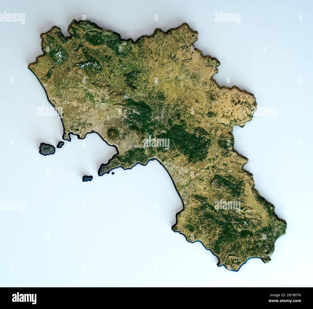 Cartina Italia Pianure.Vista Satellitare Della Campania Italia Rendering 3d Mappa Fisica Della Campania Pianure Montagne Laghi Catena Montuosa Dell Appennino Foto Stock Alamy