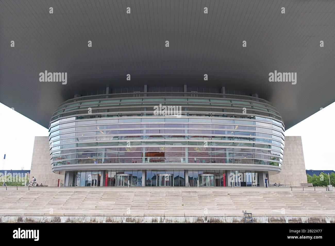 Copenhagen, Danimarca - 14 giugno 2019: Il Teatro dell'Opera di Copenhagen, il teatro dell'opera nazionale della Danimarca Foto Stock