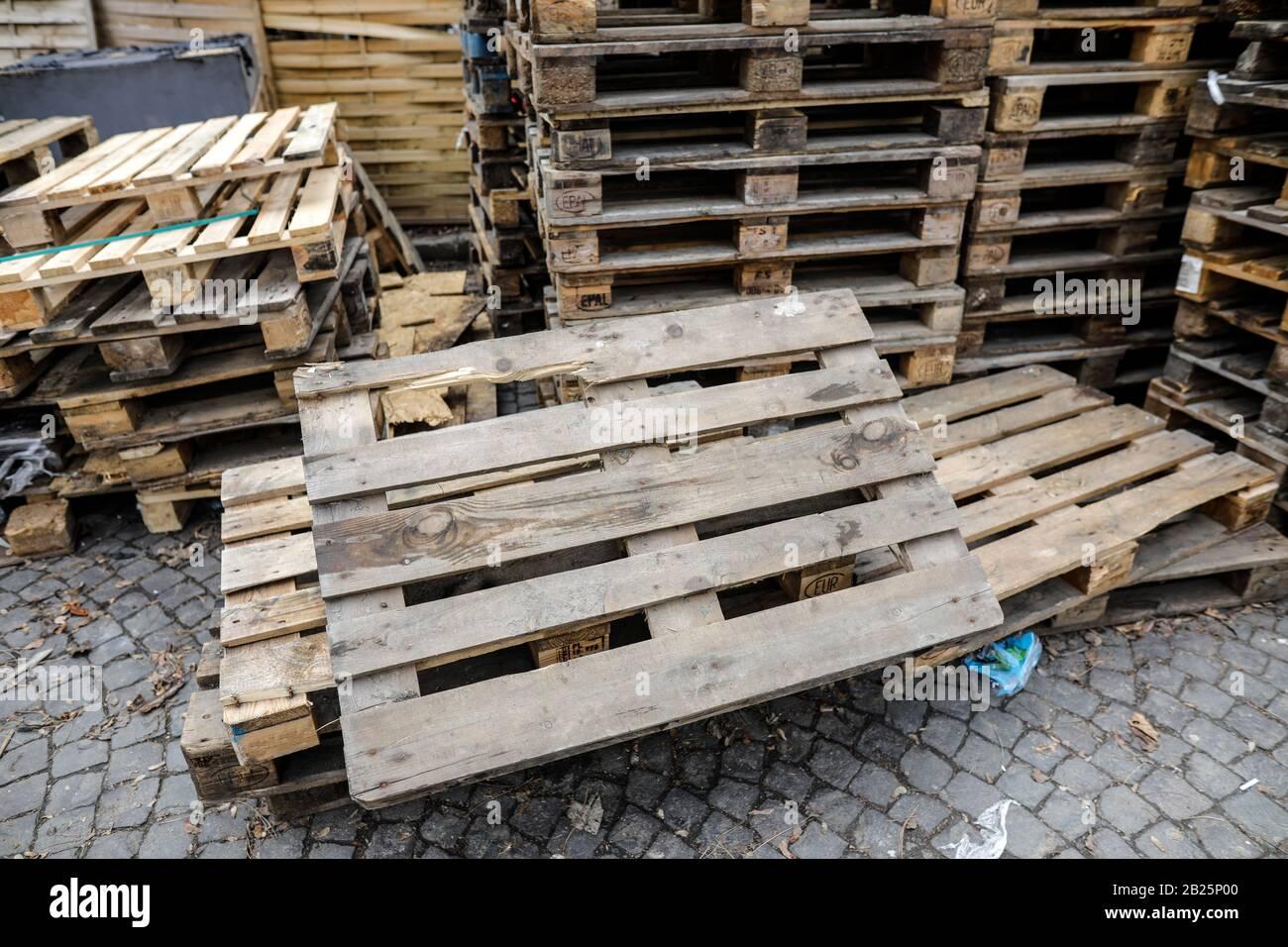 Eur Pallets Immagini E Fotos Stock Alamy