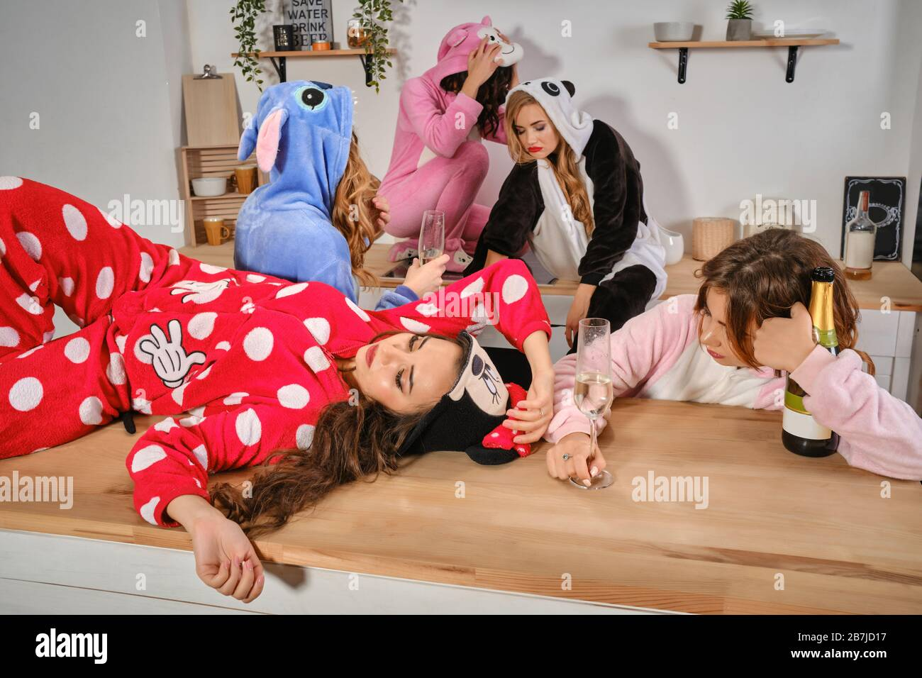 Drunk Girls Immagini E Fotos Stock Alamy