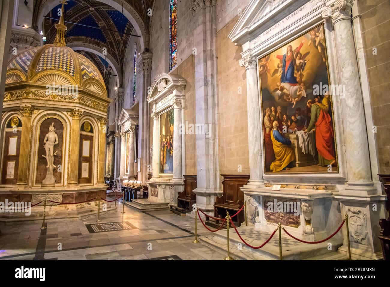 San Martino Lucca Interno
