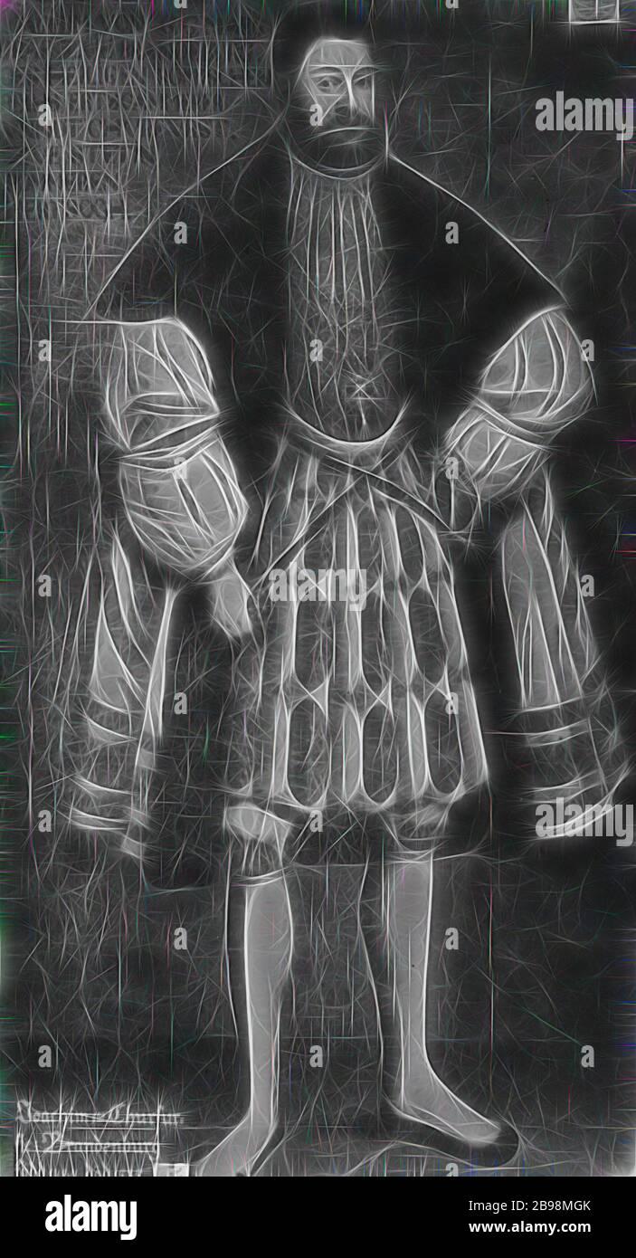 Attribuito a David Frumerie, Joakim i Nestor., Reimagined da Gibon, disegno di calda allegra luce di luminosità e raggi di luce radianza. Arte classica reinventata con un tocco moderno. La fotografia ispirata al futurismo, abbracciando l'energia dinamica della tecnologia moderna, del movimento, della velocità e rivoluzionando la cultura. Foto Stock