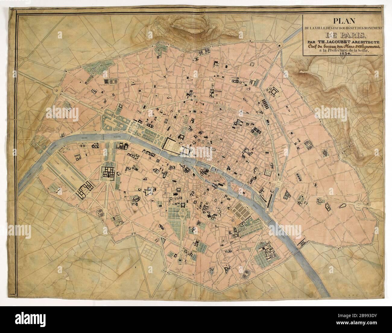 Parigi Cartina Monumenti.Mappa Dei Monumenti Di Parigi Immagini E Fotos Stock Alamy
