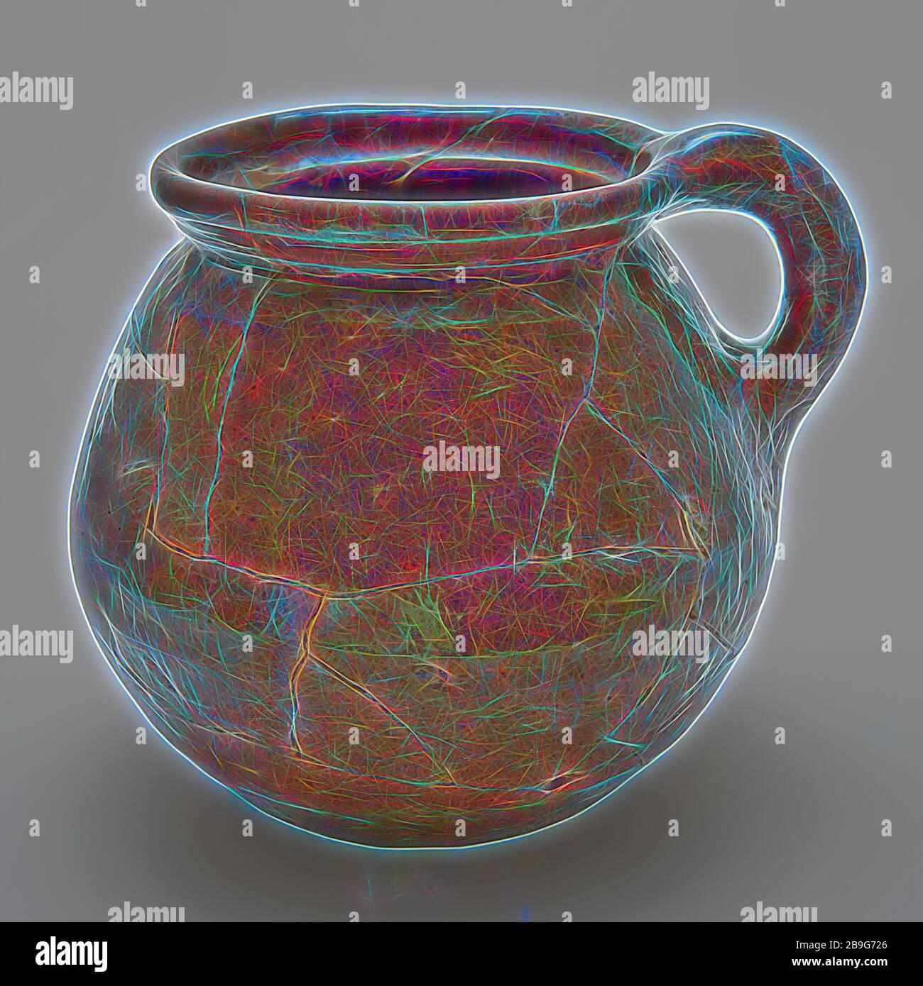 PORTAVASO ROTONDO onde SLIM 3d FIORI VASO Scanalato Set 4 colori 3 dimensioni inserto