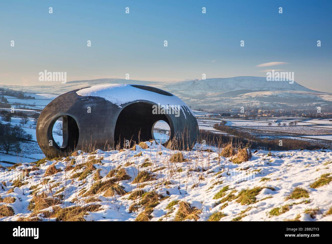 The Atom Wycoller Country Park Lancashire Foto Stock