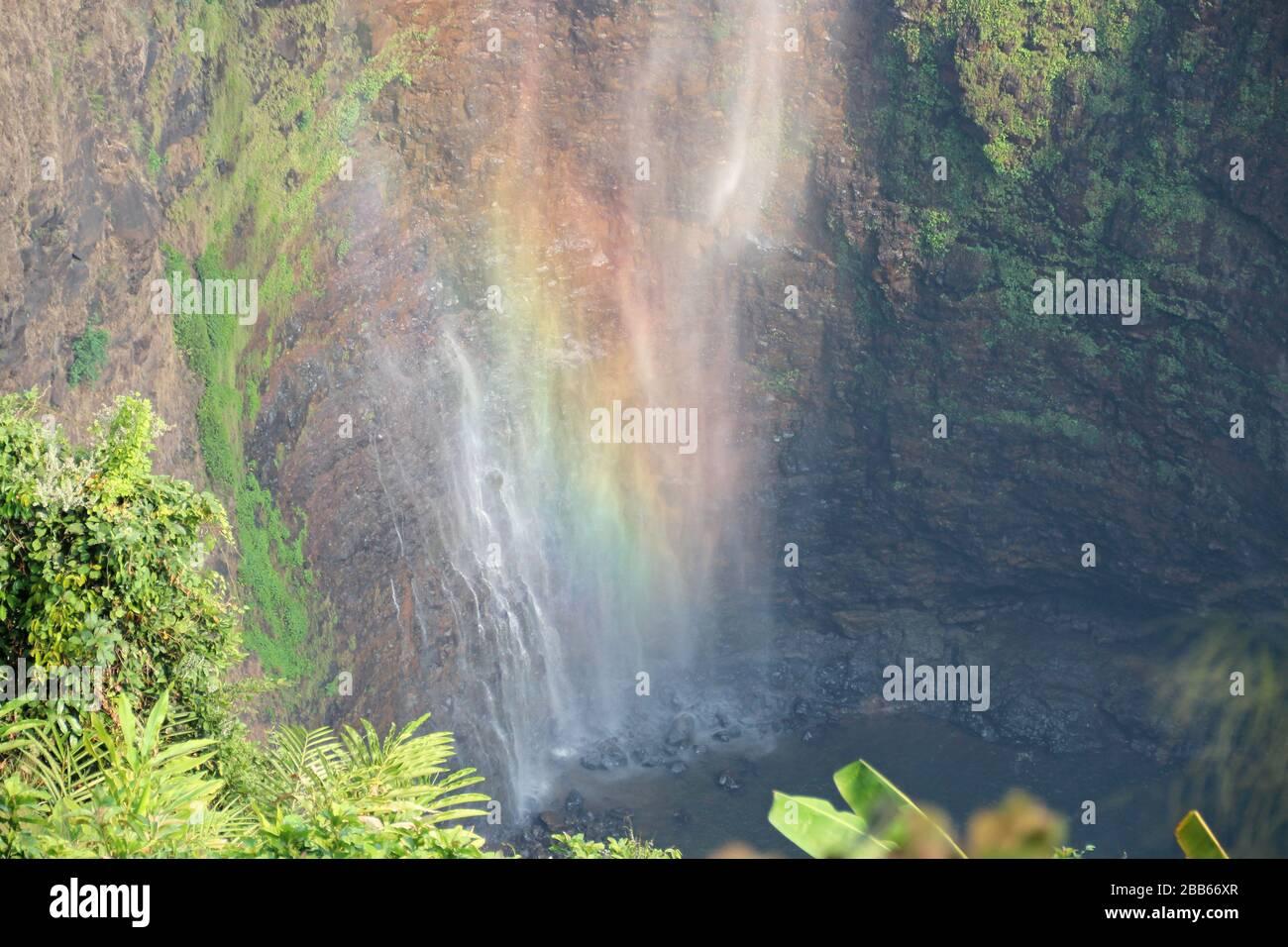 cascate di tad sane in laos Foto Stock