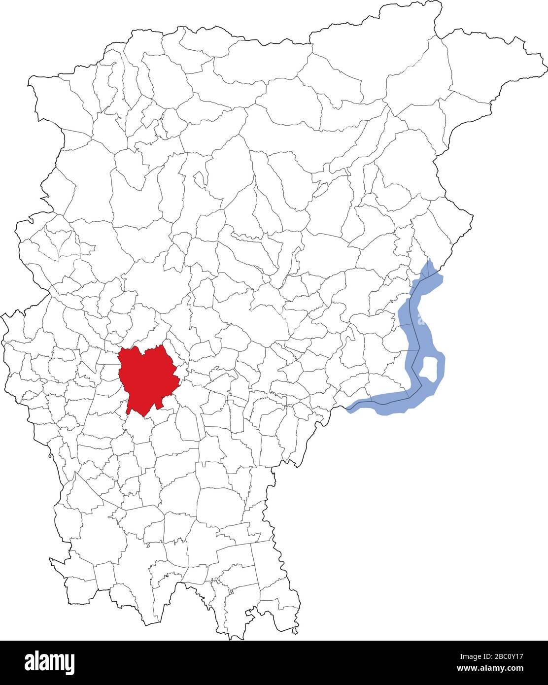 Cartina Satellitare Lombardia.Vista Satellitare Dei Comuni In Provincia Di Bergamo Mappa Lombardia Italia Immagine E Vettoriale Alamy
