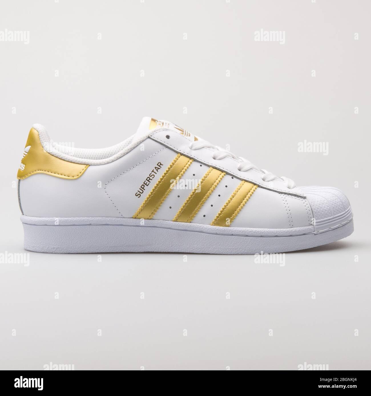 adidas superstar bianco giallo