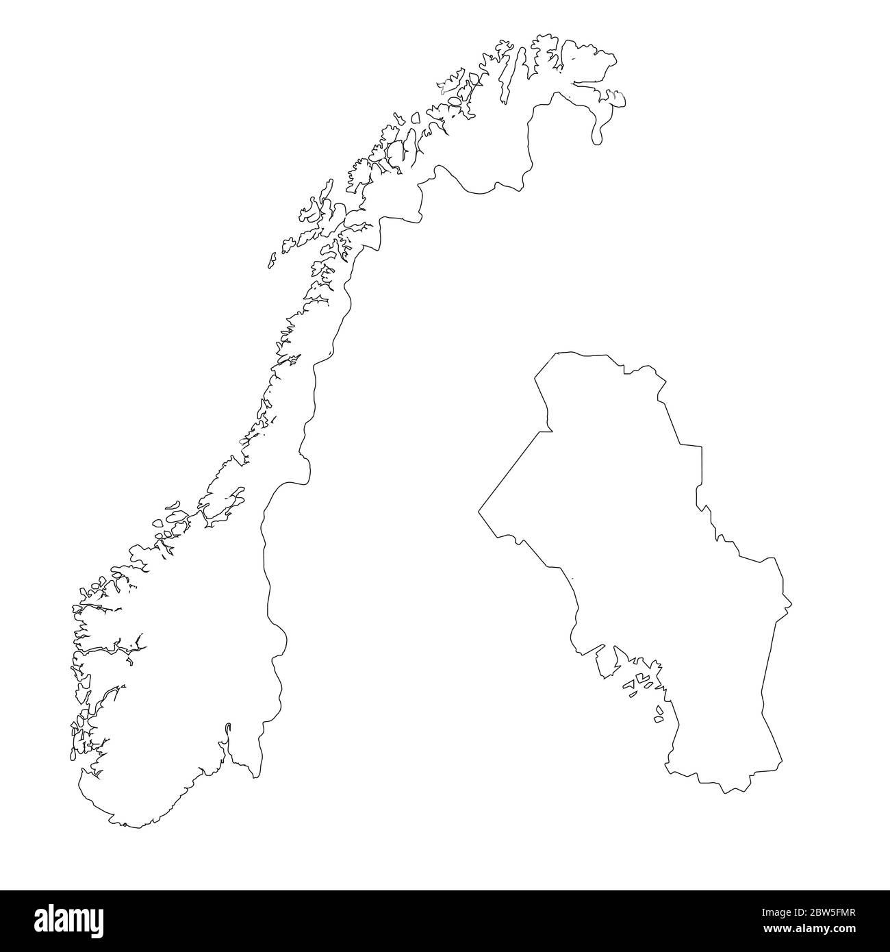 Cartina Norvegia Da Stampare.Oslo Norway Vector Vectors Immagini E Fotos Stock Alamy
