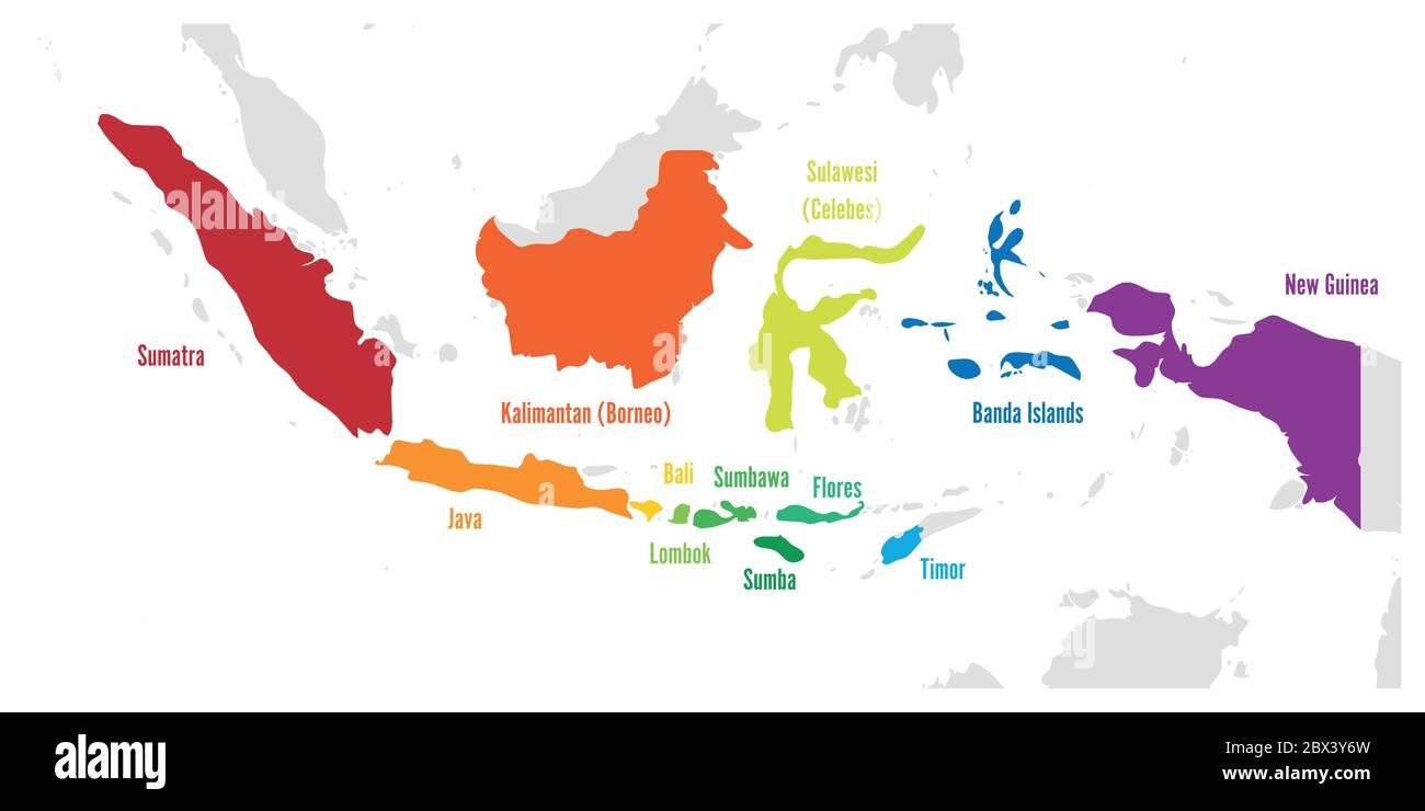 Cartina Bali Indonesia.Jakarta Map Immagini E Fotos Stock Alamy
