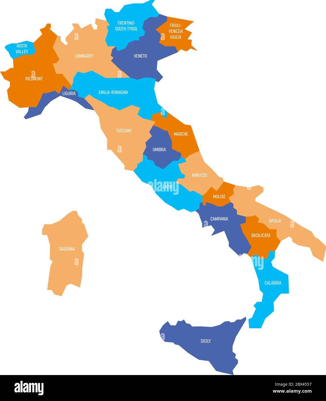 Italia Cartina Vettoriale.Veneto Map Vector Immagini E Fotos Stock Alamy