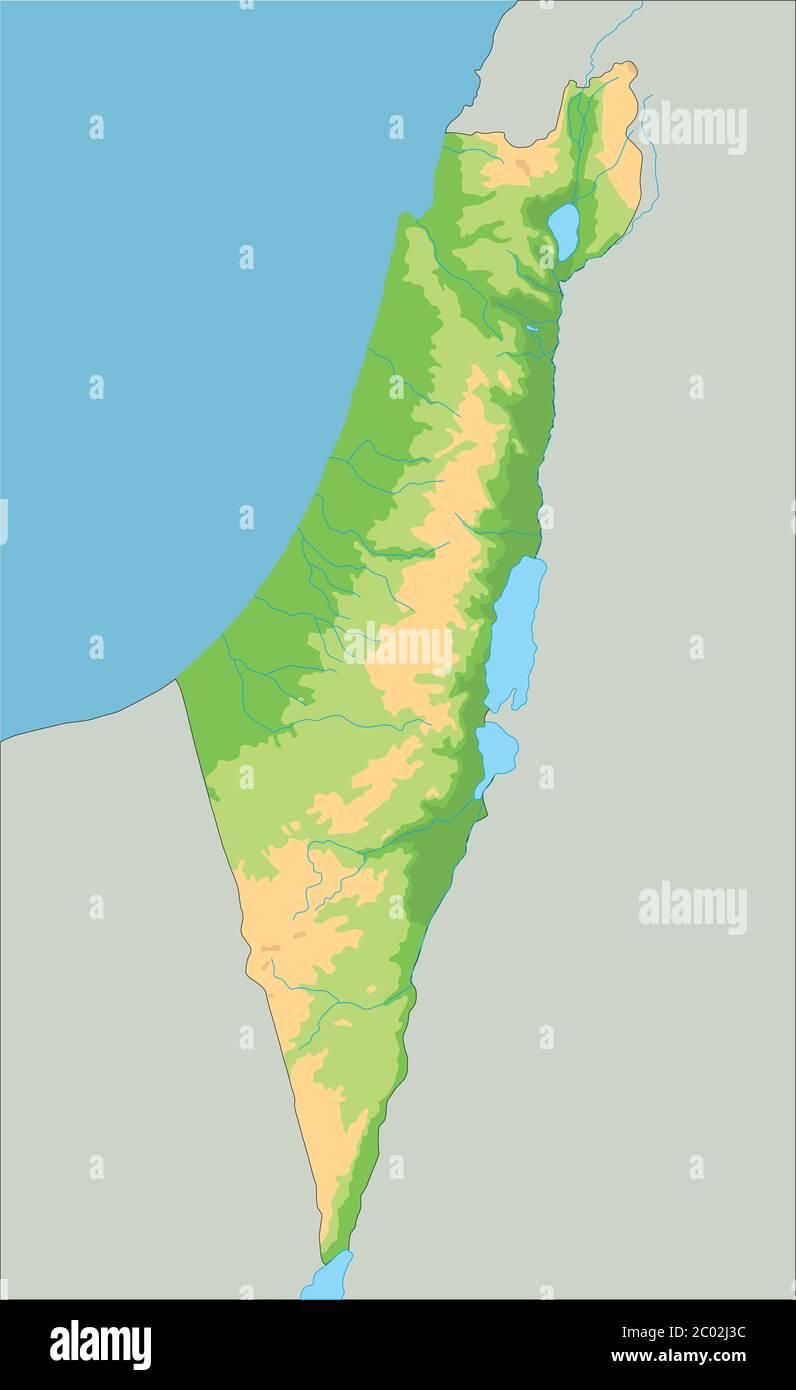 Cartina Fisica Palestina.Mappa Di Gaza Immagini E Fotos Stock Alamy