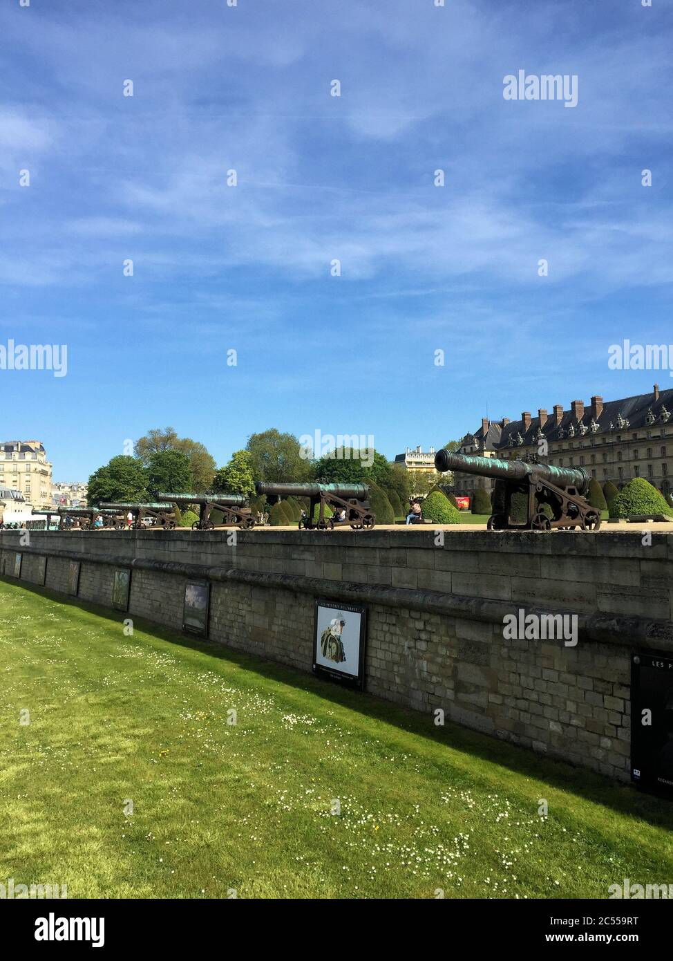 Hotel des Invalides a Parigi Foto Stock